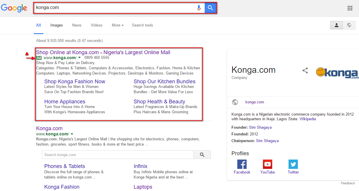 Google Adwords: Growing Your Nigerian Brand