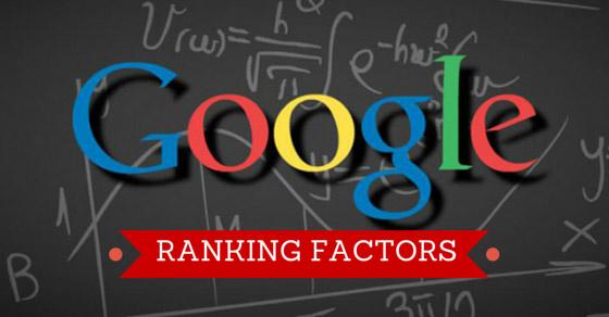Key Ranking factors on Google for 2017