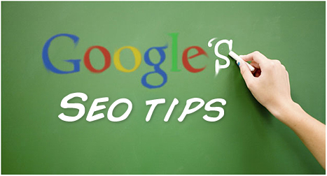 SEO advice straight from Google